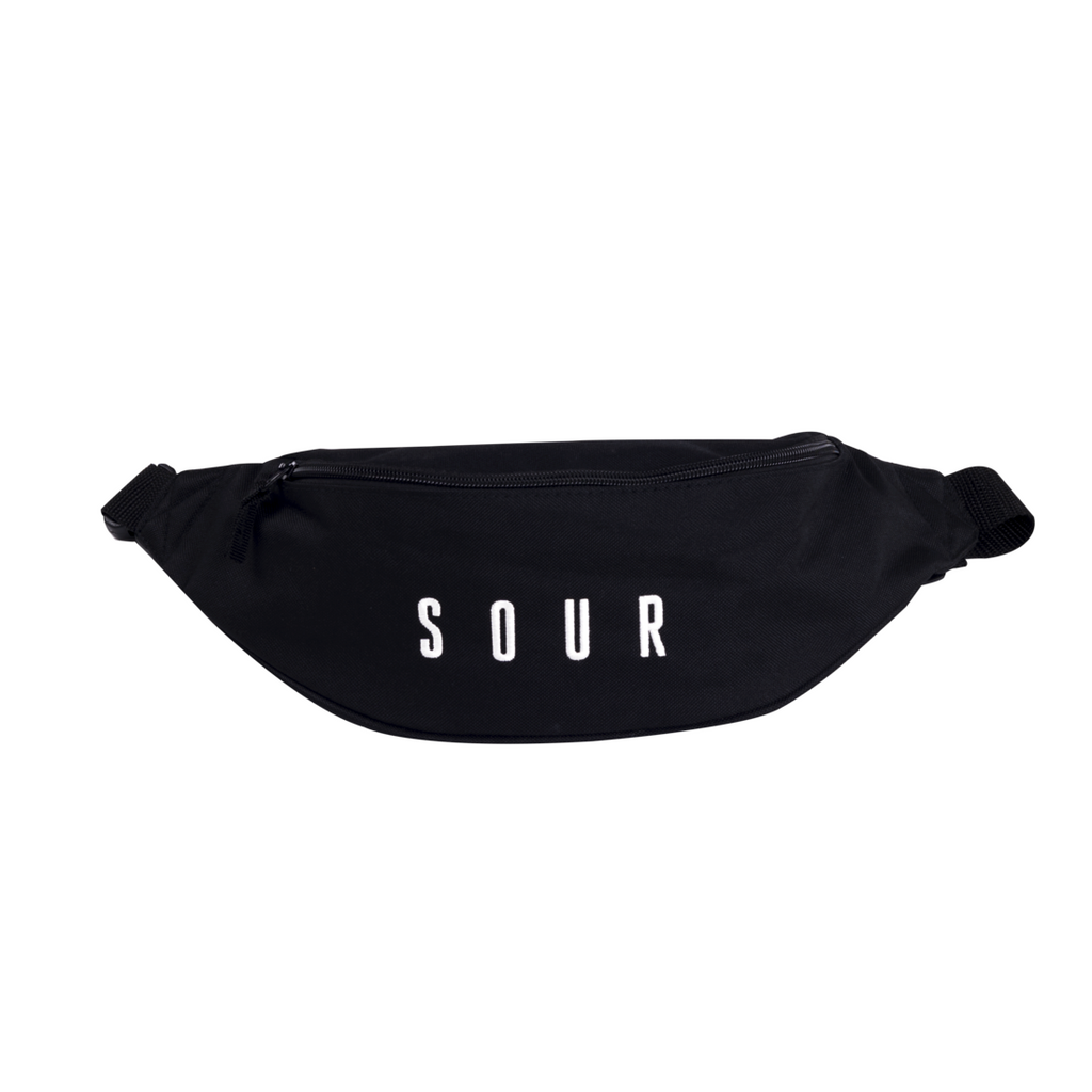 Sour Solution Sour Solution Hipster Bag | Black - TVSC