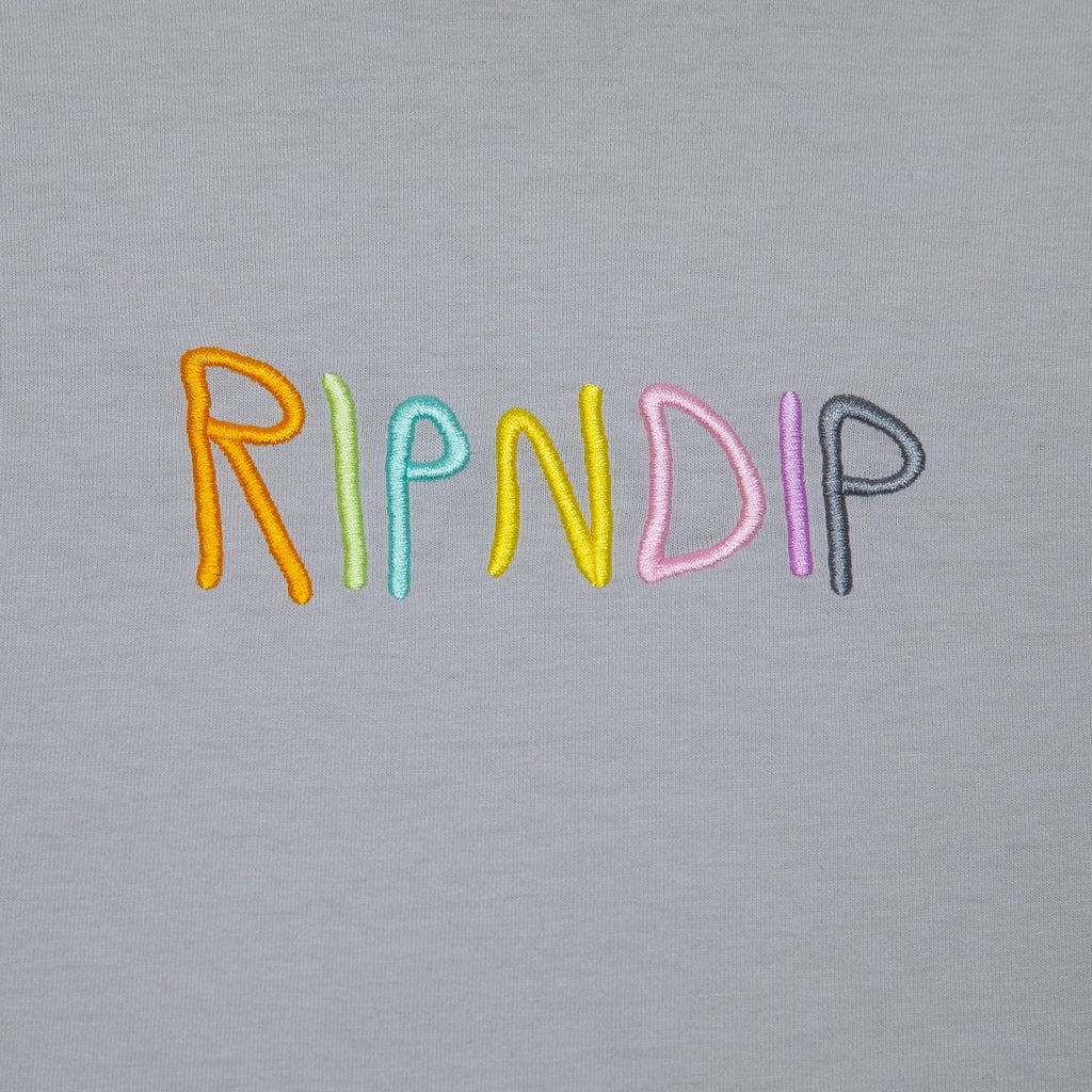 RipnDip Rip N Dip Embroidered Logo LS T-Shirt | Multi - TVSC