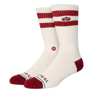 Stance License to Ill Socks 2 | Cream Canvas