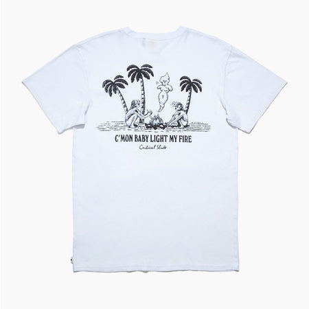 TCSS Light My Fire Tee | White - TVSC