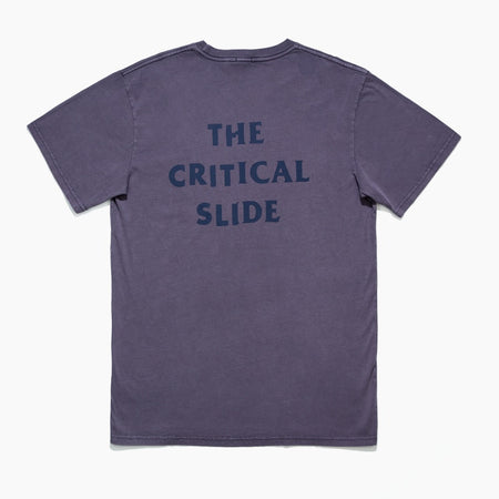 TCSS Critical Slide Society Vandal Tee Back | Cyber Grape Purple