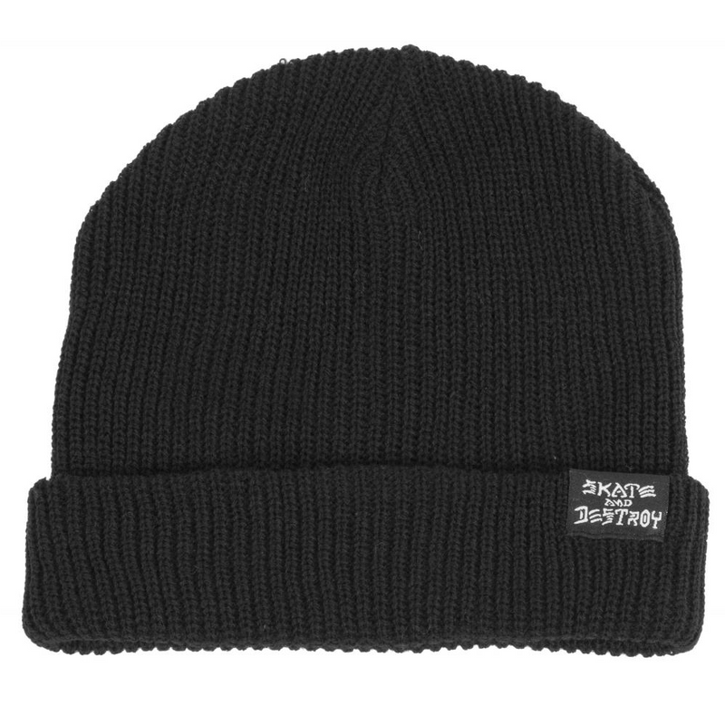 Thrasher Thrasher Skate And Destroy Beanie | Black - TVSC