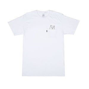 RipnDip Rip N Dip Lord Nermal Pocket T-Shirt | White - TVSC