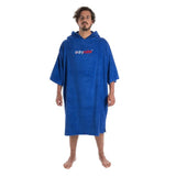 Towel DryRobe Short Sleeve Royal Blue Large Front | TVSC