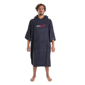 Dryrobe Dryrobe Towel Adult Changing Robe | Navy Blue - TVSC