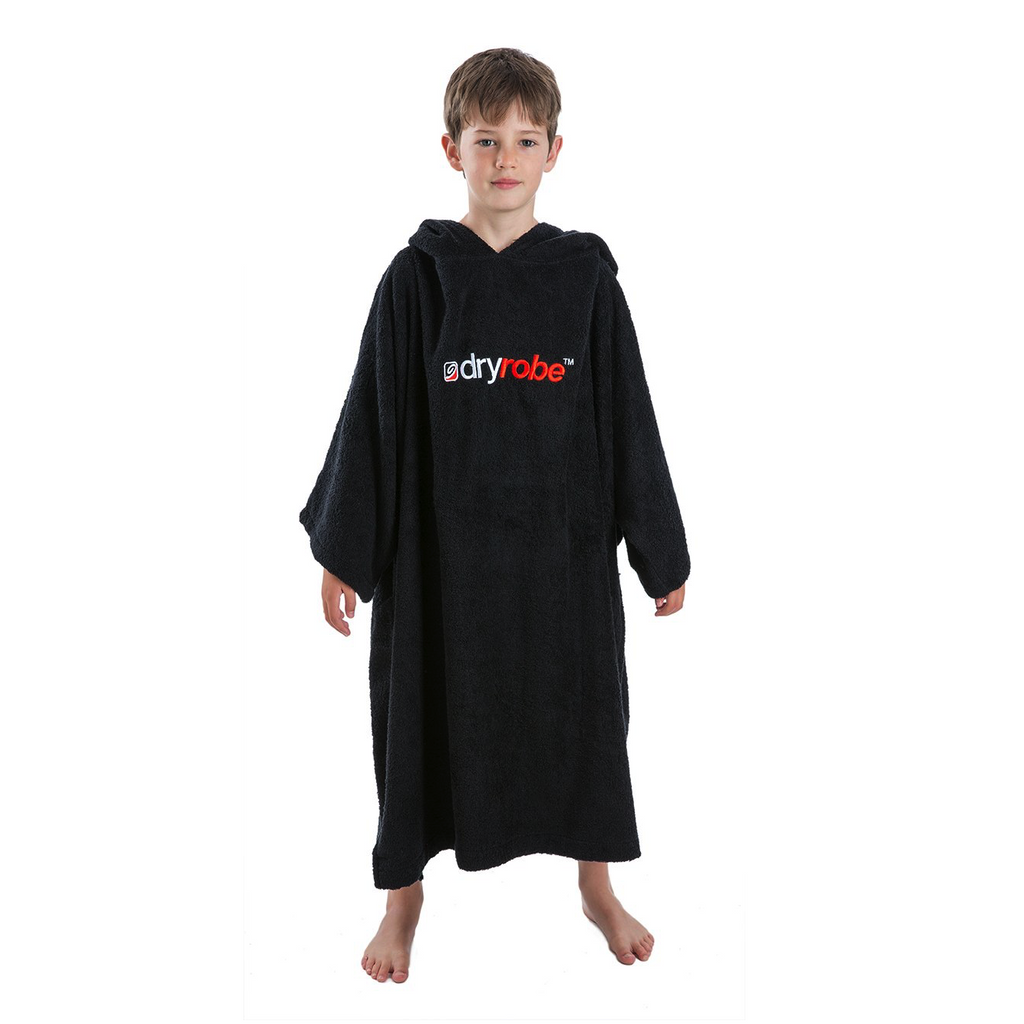 Dryrobe Dryrobe Towel Adult Changing Robe | Black - TVSC