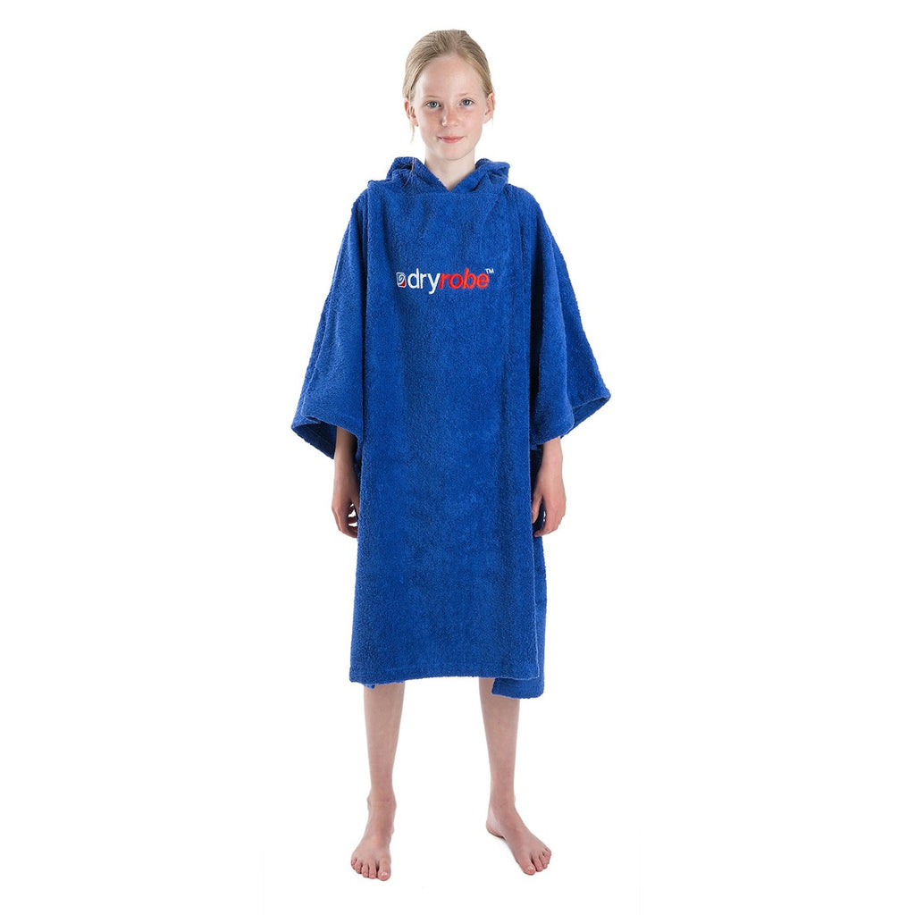 Dryrobe Dryrobe Towel Adult Changing Robe | Royal Blue - TVSC