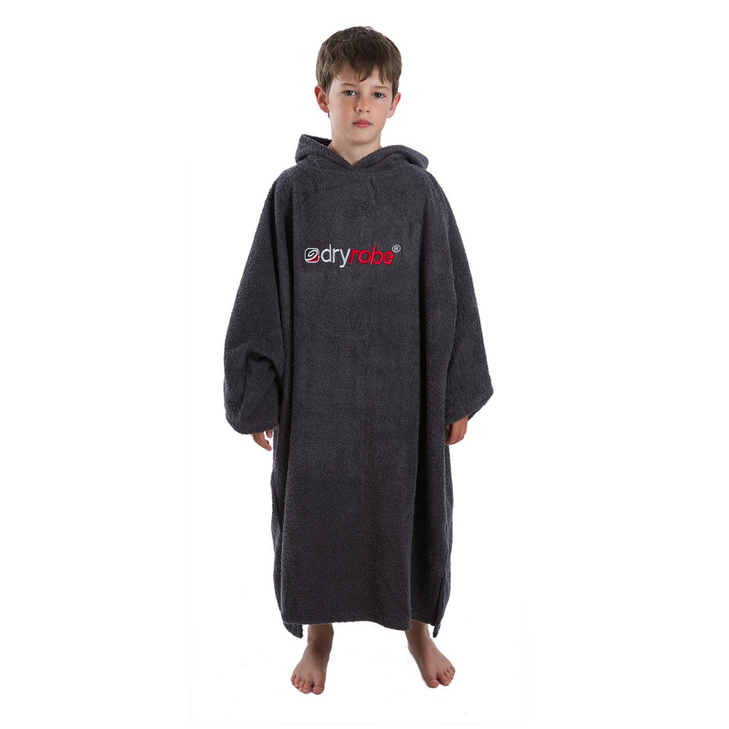 Dryrobe Dryrobe Towel Adult Changing Robe | Slate Grey - TVSC