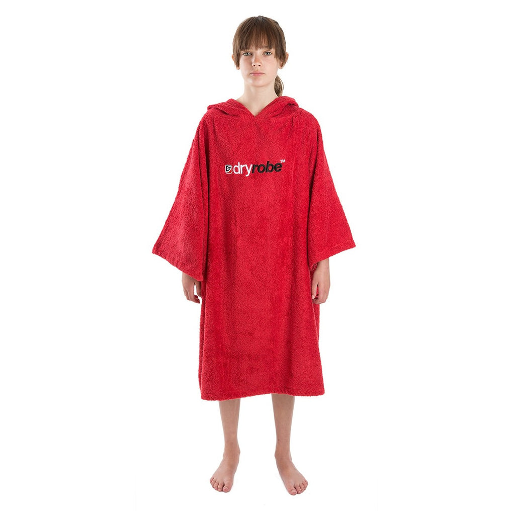 Dryrobe Dryrobe Towel Adult Changing Robe | Red - TVSC