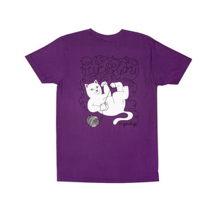 RipnDip Rip N Dip Tangled T-Shirt | Purple - TVSC