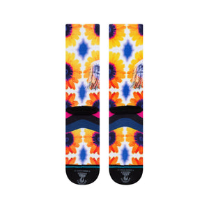 Stance Stance Jimi Sunflowers Socks | Multi - TVSC