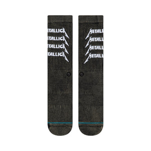 Stance Stance Metallica Stack Socks | Black - TVSC