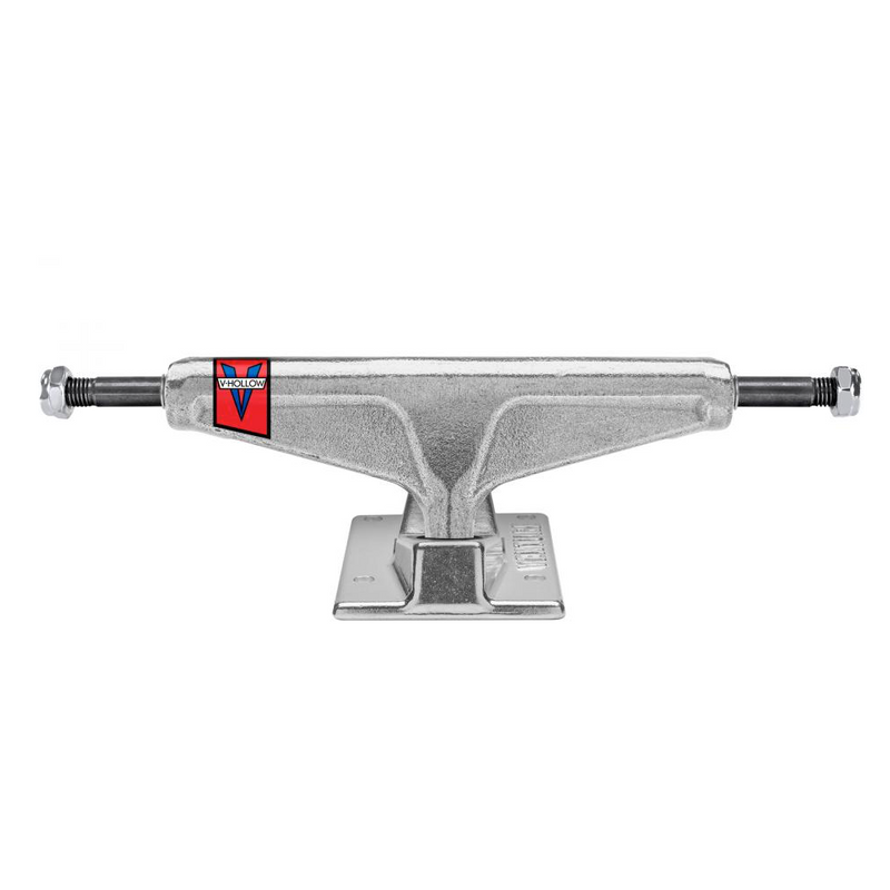 Venture V Hollow Low Polished Skateboard Trucks Pair | 5""