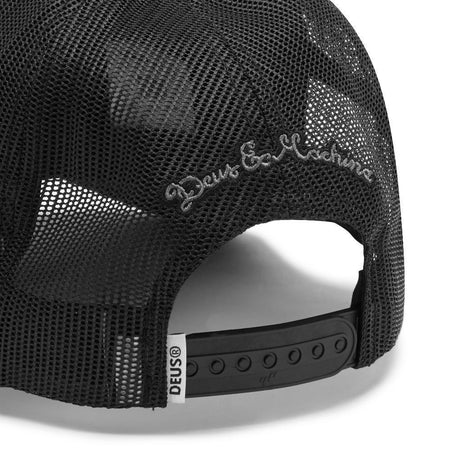 Deus Ex Machina Pill Trucker Cap | Black back