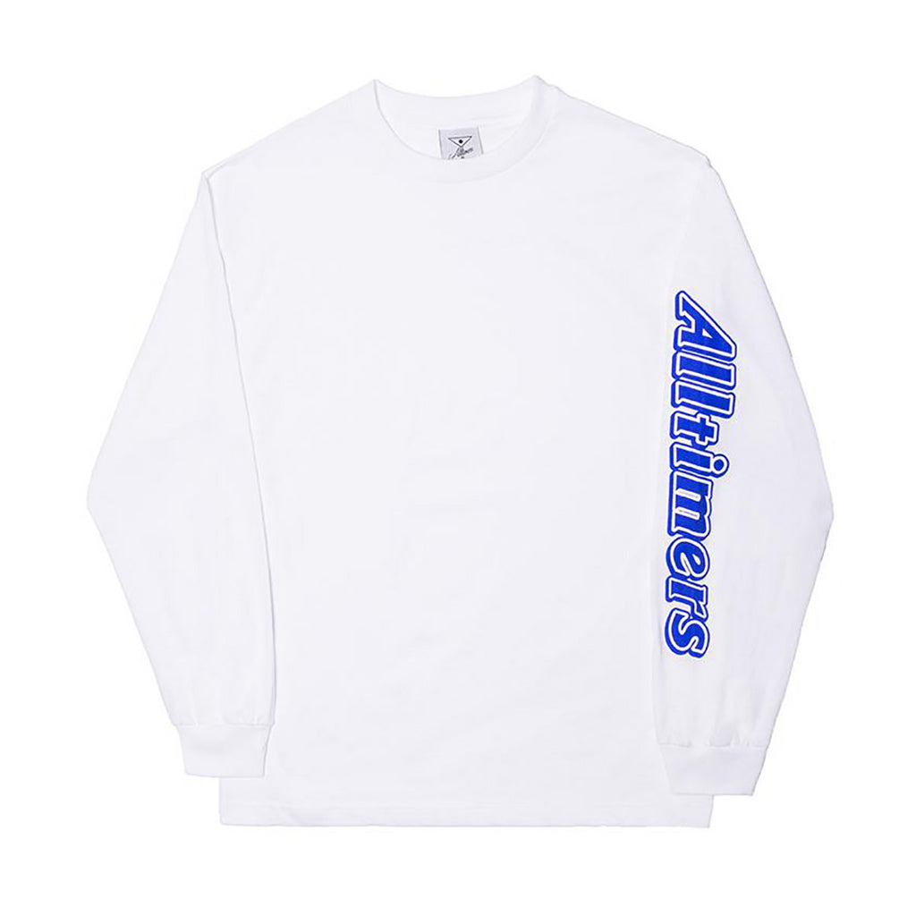 Alltimers Alltimers Choco Long Sleeve T-Shirt | White - TVSC