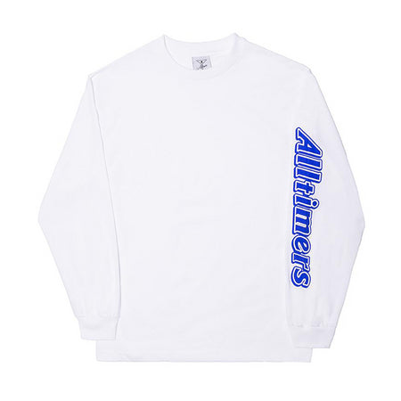 Alltimers Choco Long Sleeve T-Shirt | White - TVSC