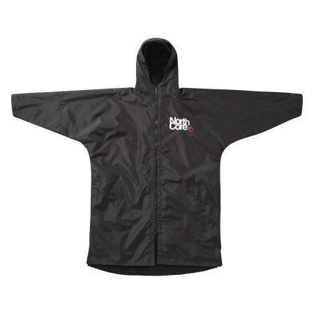 Northcore Beach Basha Pro - 4 Season Changing Robe Black L/XL - TVSC