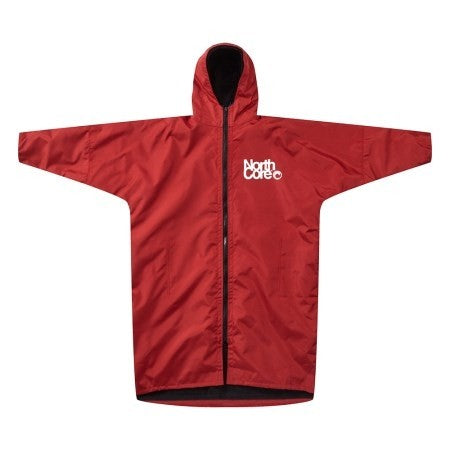 Northcore Beach Basha Pro - 4 Season Changing Robe Red S/M - TVSC