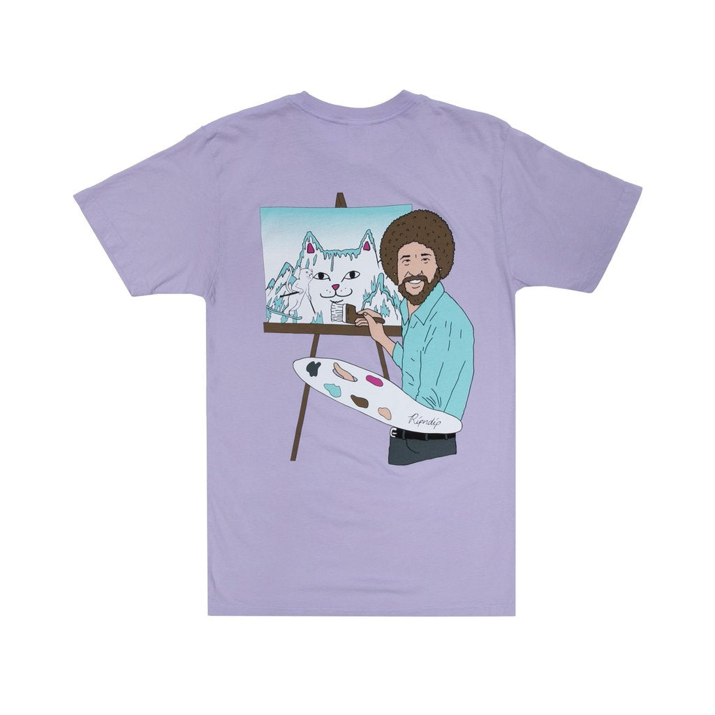 Rip N Dip Beautiful Mountain Long Sleeve T-Shirt | Lavender