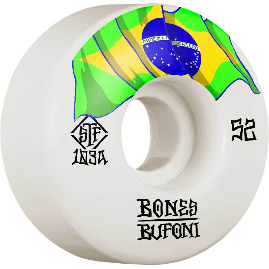 Bones STF V1 Bufoni Skate Wheels | 52mm 103A
