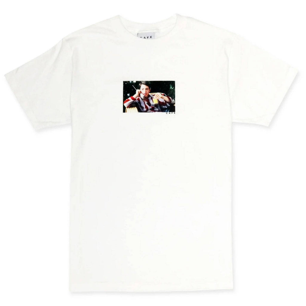 Skateboard Cafe Day Off T-Shirt | White