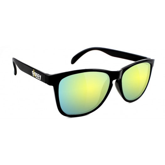Glassy Glassy Sunhaters Deric Cancer Hater Sunglasses | Black & Gold - TVSC