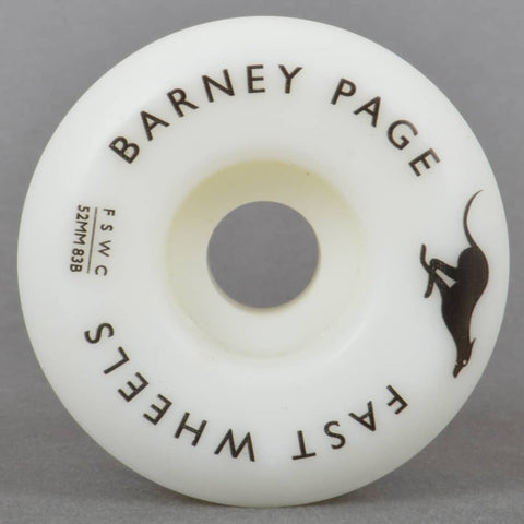 Fast Skate Wheel Co Fast Skate Wheel Co Barney Page Pro Skateboard Wheels | 52mm - TVSC
