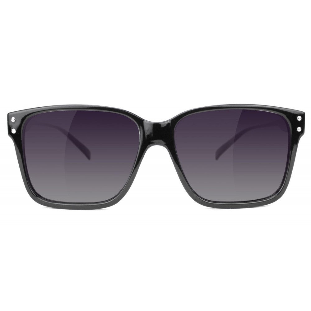 Glassy Glassy Fritz Sunglasses | Black & Purple - TVSC