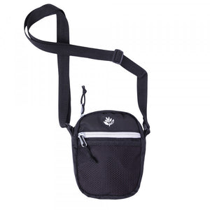 Magenta Sport Pouch Hip Bag | Black