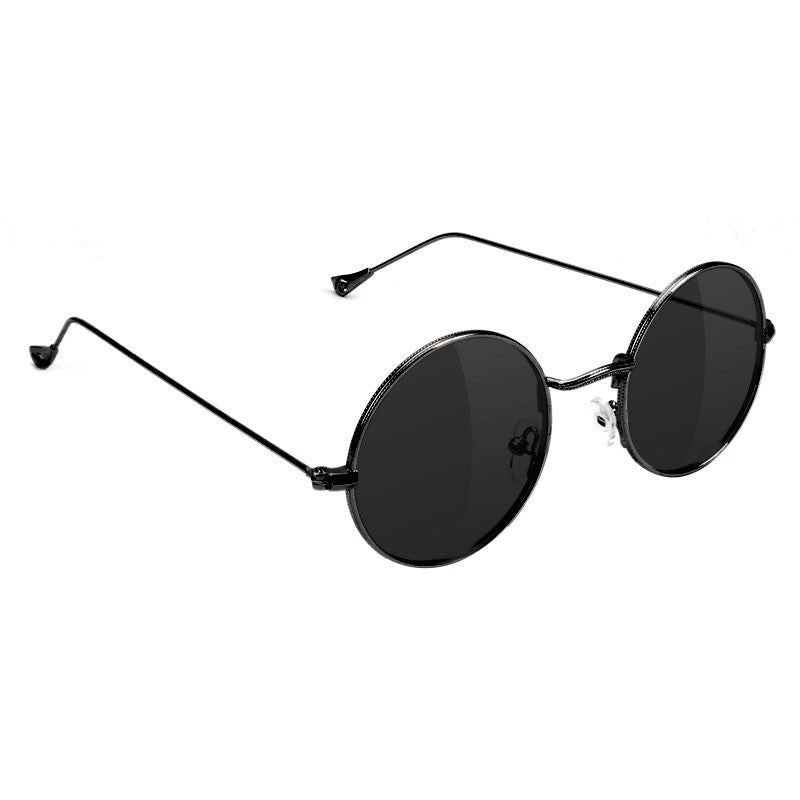 Glassy Glassy Jaws Polarized Sunglasses | Black - TVSC