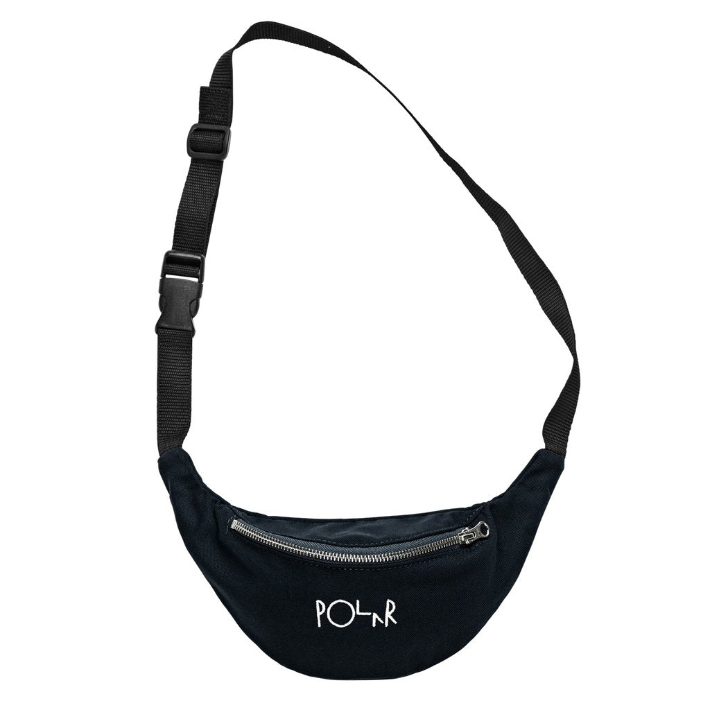 Polar Script Logo Hip Bag | Black - TVSC