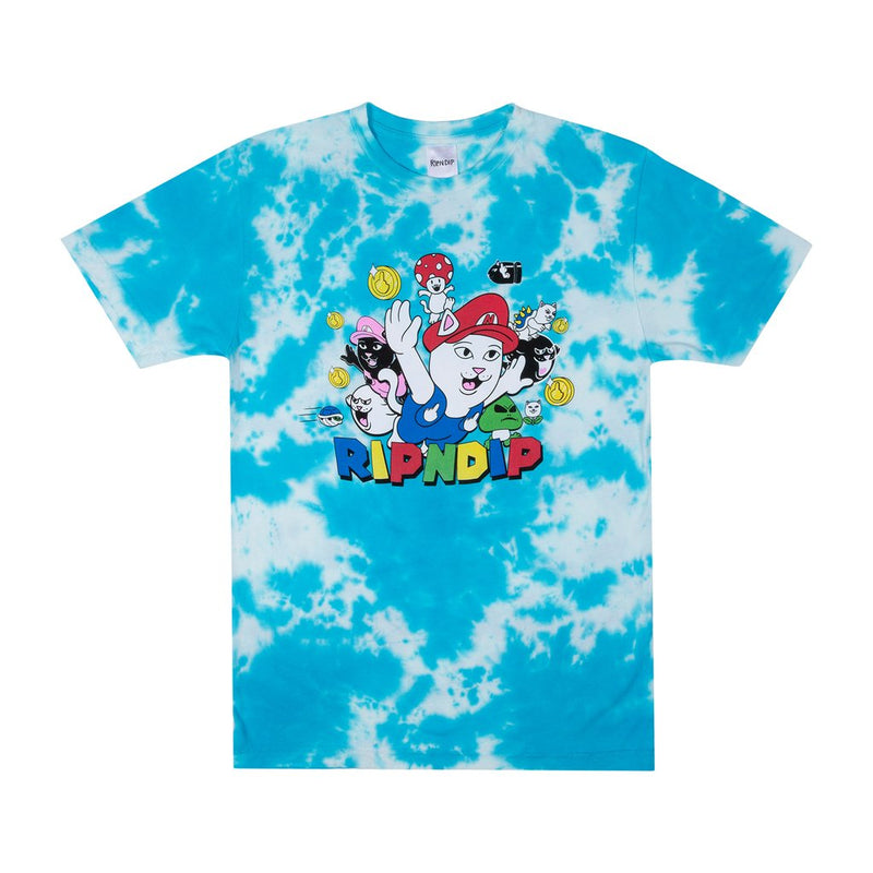 RipnDip Rip N Dip Nermio T-Shirt | Blue Cloud Wash - TVSC