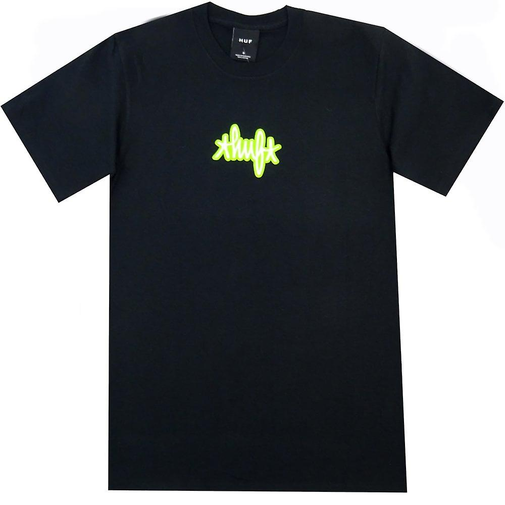 HUF Landmark Logo T-Shirt | Black