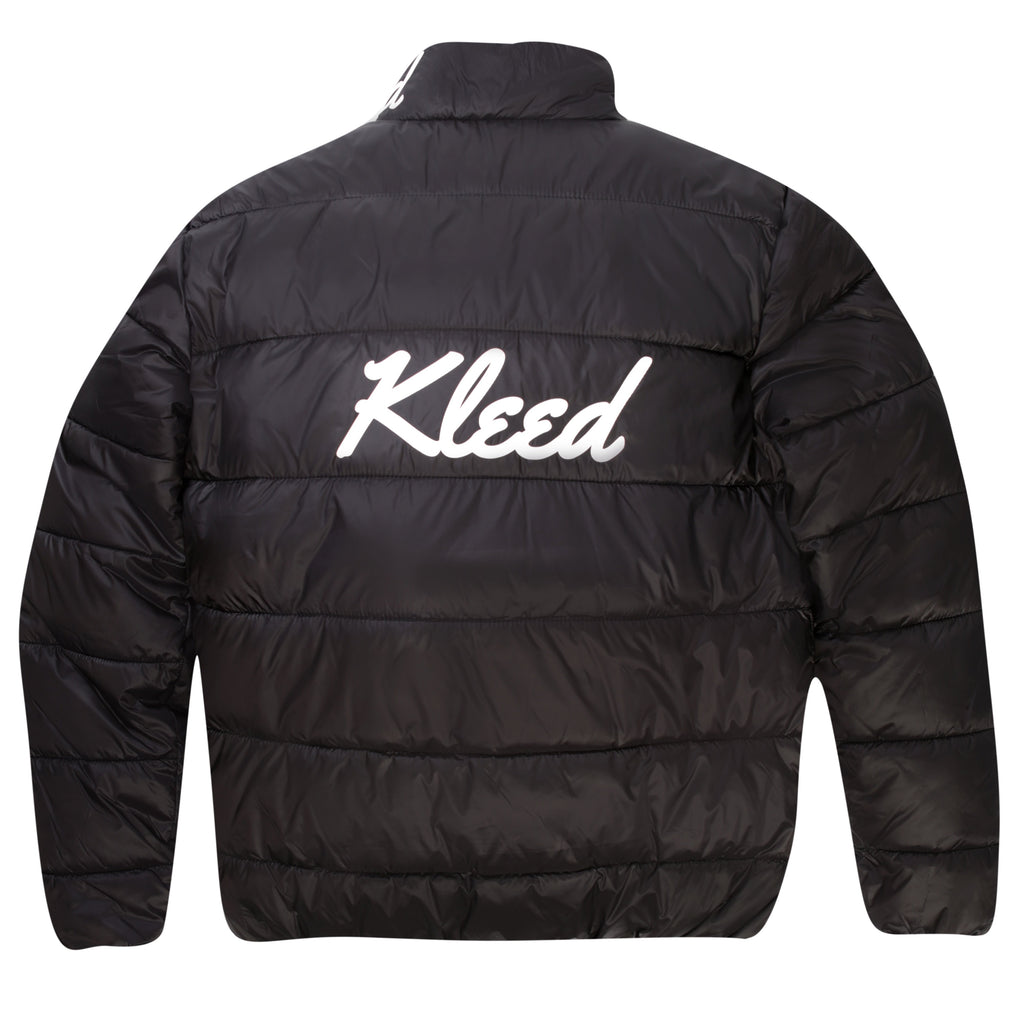 Kleed Logo Puffer Jacket | Black - TVSC