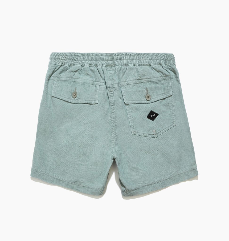 TCSS TCSS All Day Cord Walk Shorts | Sea Mist Green - TVSC