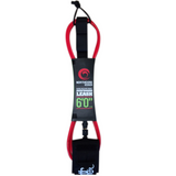 Northcore Addiction Leash 7mm Red 6ft - TVSC