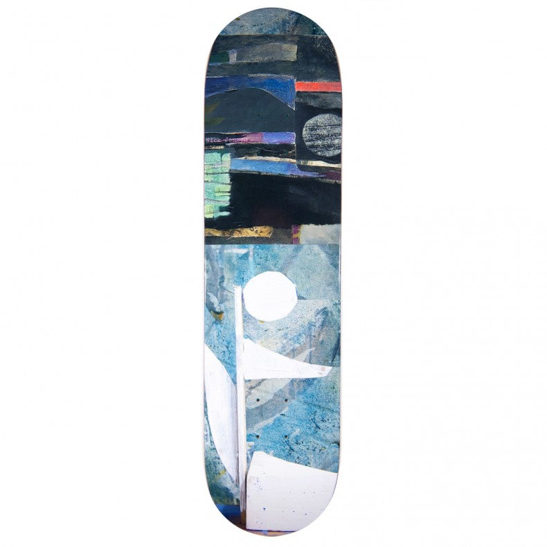 Isle Skateboards Sculpture Series Nick Jensen Deck | 8