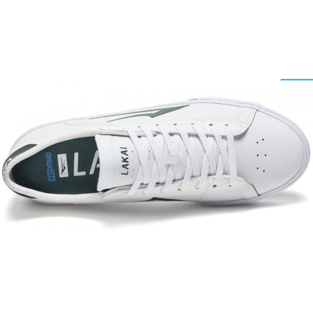 Lakai Newport Leather | White - TVSC