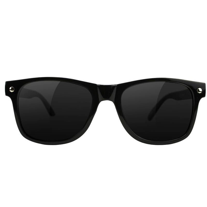 Glassy Glassy Leonard Sunglasses | Black - TVSC