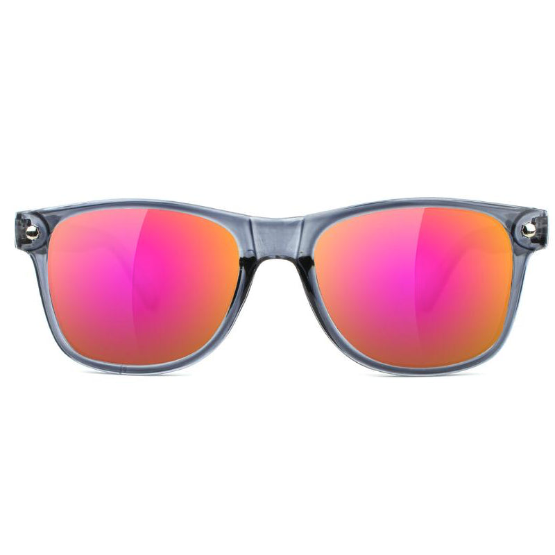 Glassy Glassy Leonard Sunglasses | Grey & Purple - TVSC