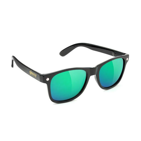 Glassy Glassy Leonard Sunglasses | Black & Green - TVSC