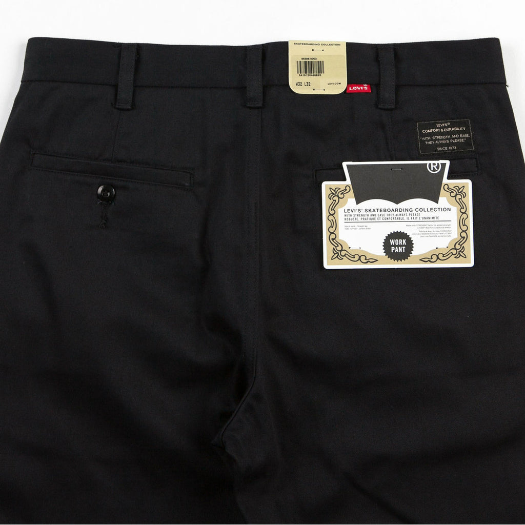 Levi's Skateboarding Work Pant | Black back