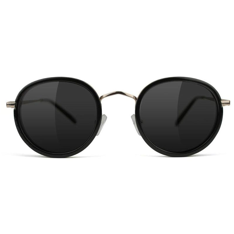 Glassy Glassy Lincoln Polarized Sunglasses | Black - TVSC