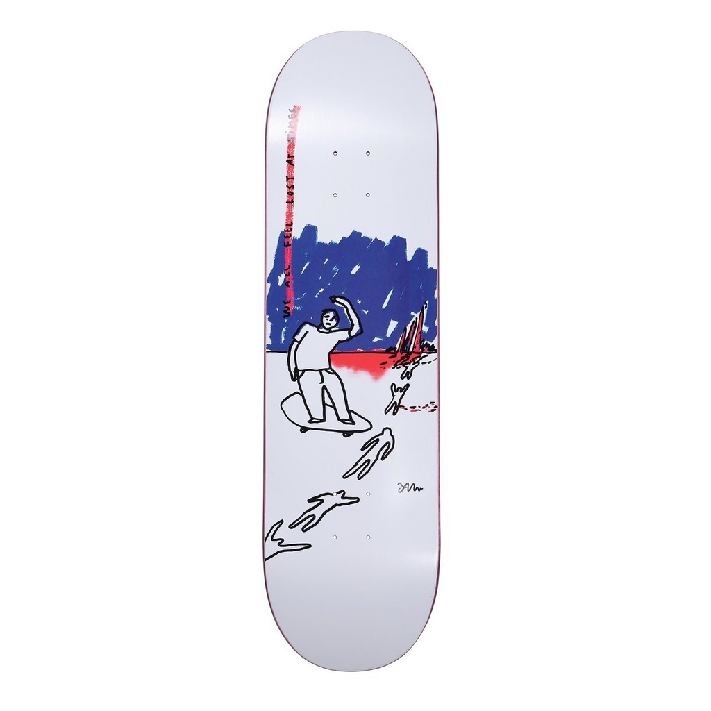 Polar Skate Co Team We All Feel Lost At Times Deck | 8.125""