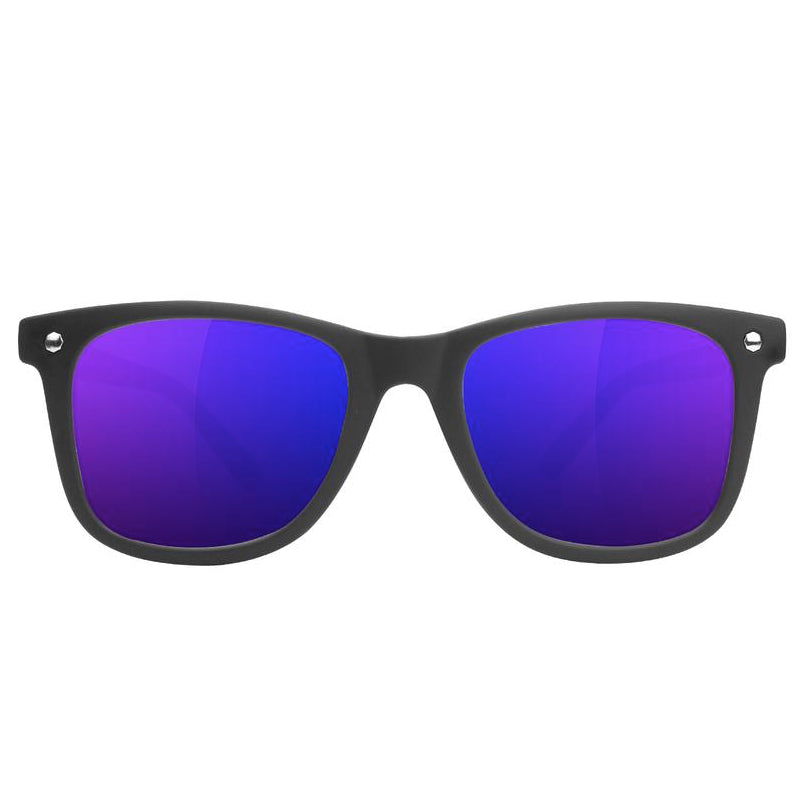 Glassy Glassy Mikemo Polarized Lakai Sunglasses | Black & Blue - TVSC