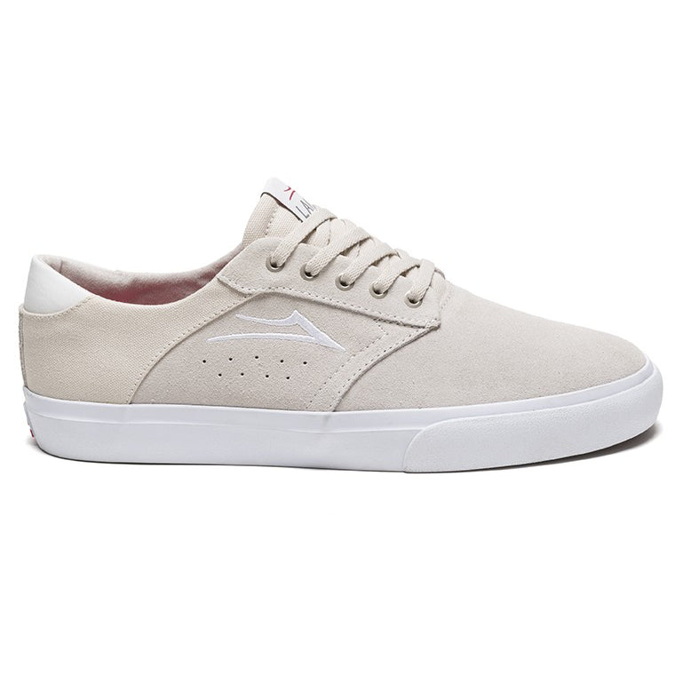 Lakai Porter Suede Skate Shoes | White side