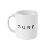 surf is dead statement mug left side