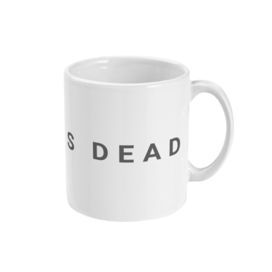 surf is dead statement mug right side