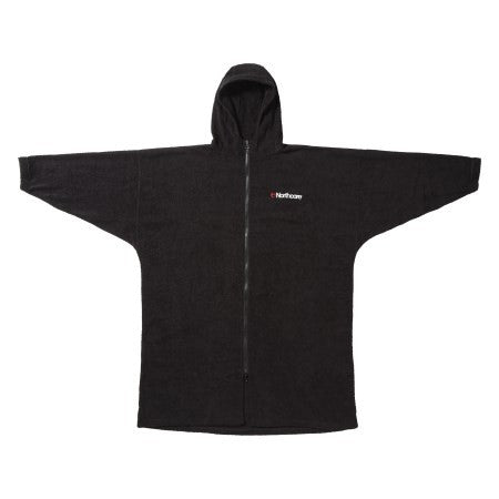 Northcore Beach Basha Pro - 4 Season Changing Robe Black S/M - TVSC