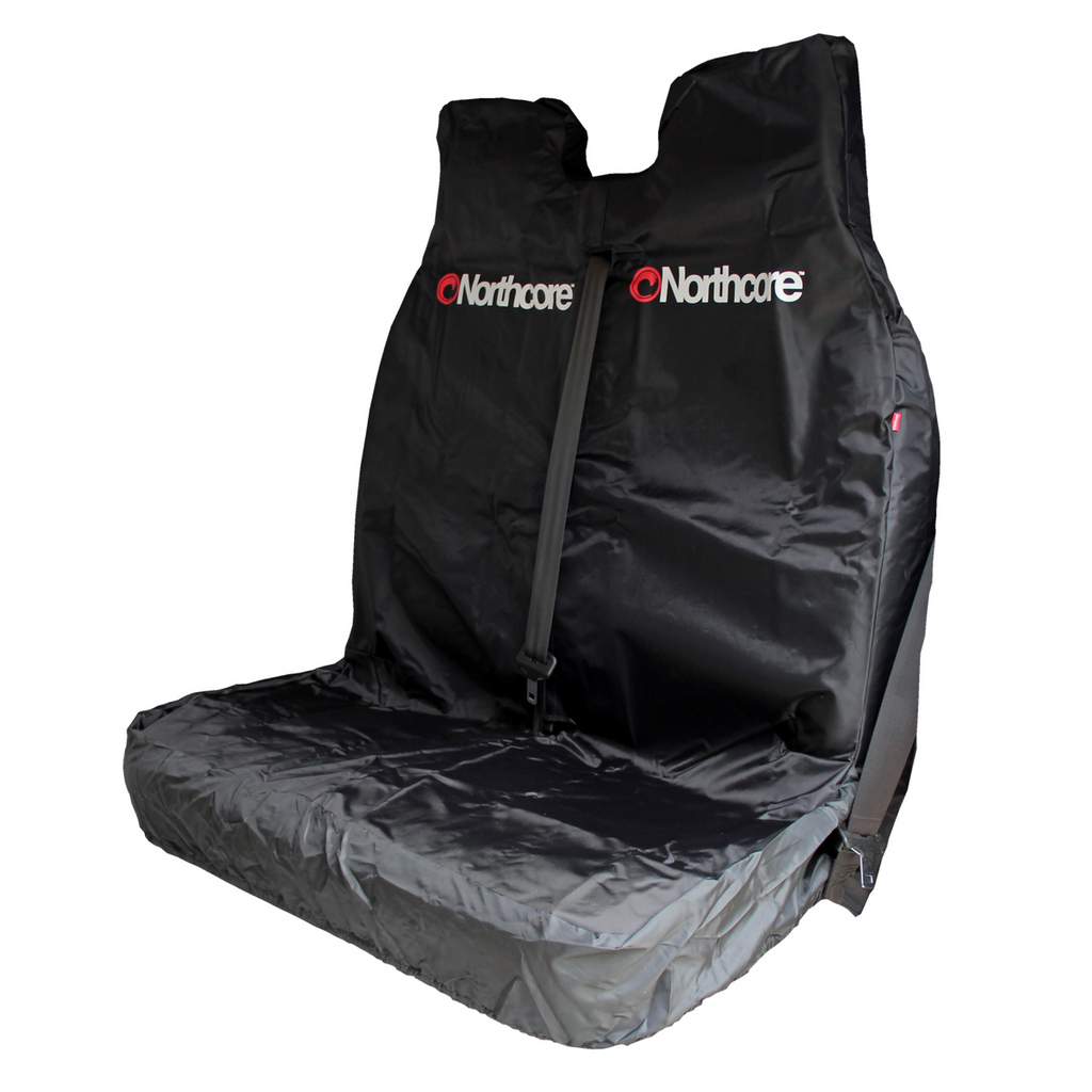 Northcore Double Car/Van Seat Cover Black Waterproof - TVSC